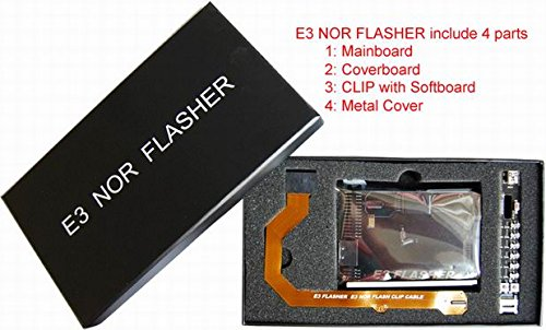 New E3 NOR FLASHER with 4 parts for ps3 -