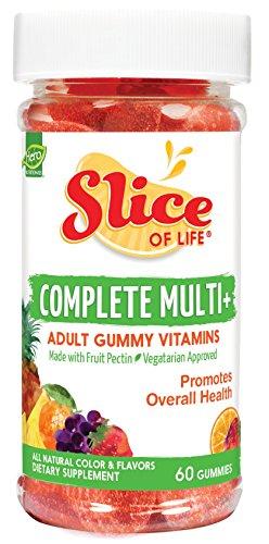 Hero nutritionnelle Produits- Slice of Life multivitamines avec végétarien, 60 Gummy tranches