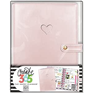 me & my BIG ideas  CODM-04 Create 365 The Happy Planner Mini Deluxe Cover, Rose Gold