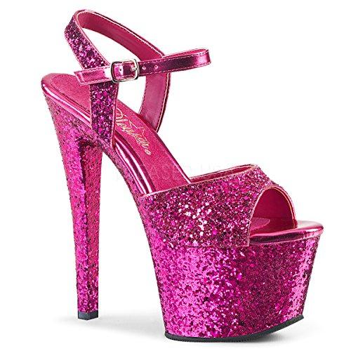 Women's Gold Sky Glitter H Pleaser Pink Pink Glitter H 310lg Sandal p1dW7w