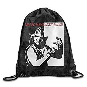 TEEMO Macho Men Randy Savage Port Bag Drawstring Backpack