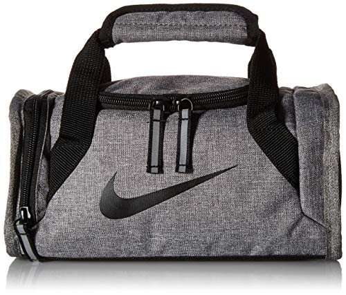 NIKE Children's Apparel Kids' Little Top Handle Fuel Pack, Light Grey Heather/black, S
