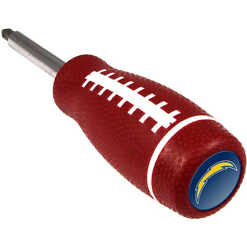 Team Promark San Diego Chargers Pro Grip Screwdriver Size: One Size