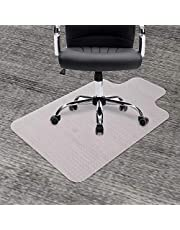 """Dinosaur Carpet Chair Mat,36""""x48""""with Lip Clear Heavy Duty Mat for Low and No Pile Carpeted Floors, Good for Desk,Office and Home,Protects Floors"""