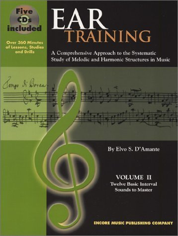 by-elvo-s-damante-ear-training-twelve-basic-interval-sounds-to-master-volume-2-book-5-cds-paperback