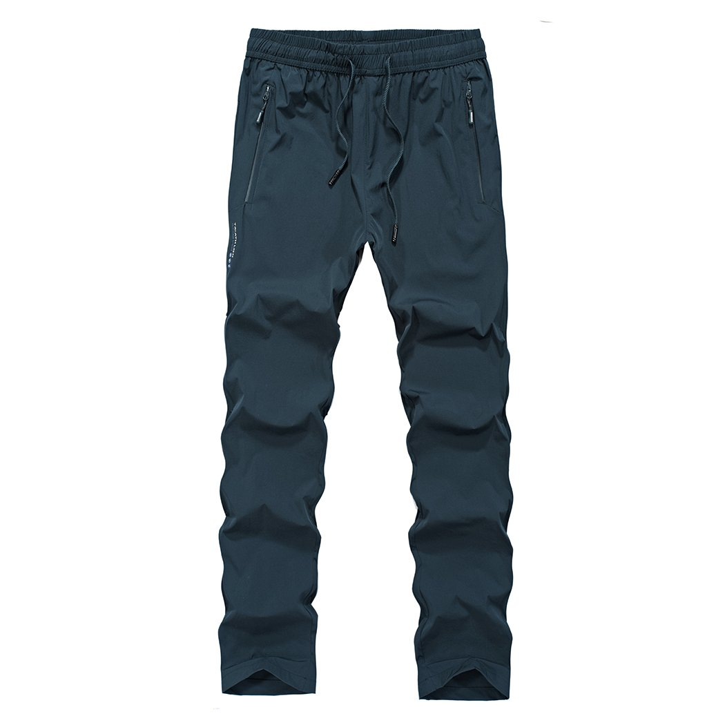 Real Spark Men's Outdoor Breathable Quick Drying Hiking Stretch Pants Nylon Spandex