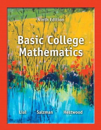 Basic College Mathematics (9th Edition) [Margaret L. Lial - Stanley A. Salzman - Diana L. Hestwood] (Tapa Blanda)