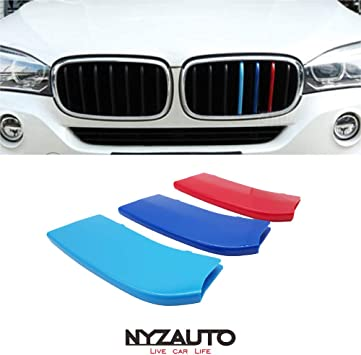 2015-up F16 X6 Center Kidney Grill M-Colored Grille Insert Trims For 2014-up F15 X5