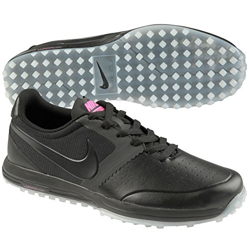 Nike Lunar Mont Royal Mens Golf Shoes 652530 Sneakers Trainers (US 10.5, Black White Pink Power 005)