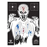 Triumph Systems Threat Down Zombie Silhouette - 3-Pack - Zombie Target - Life Size Target - Highly Visible Target- Target for Shooting - Short Range Target
