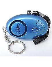 EPOSGEAR sleutelhanger, zaklamp en mini-alarm met 140 dB sirene