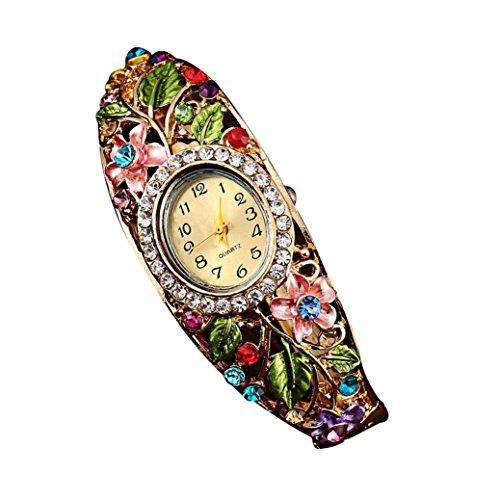DDLBiz Christmas Crystal Bracelet Wristwatch
