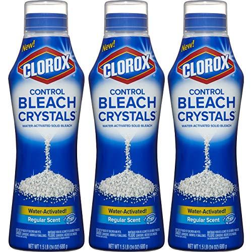 Clorox Control Bleach Crystals Regular 72 Ounces