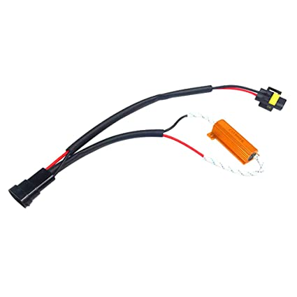 2x H8 H11 Led Drl Fog Light Canbus 50w Load Resistor Error Free Decoder Cancel At All Costs Atv,rv,boat & Other Vehicle