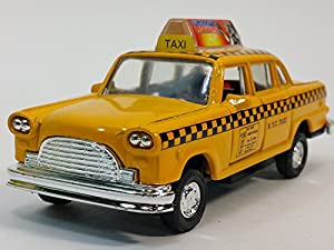 Classic New York City 1963 Checker Yellow Nyc Taxi Cab