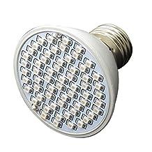 6W 60LED E27 Hydroponic Plant Grow Light Panel Full Spectrum Indoor Grow Lamp