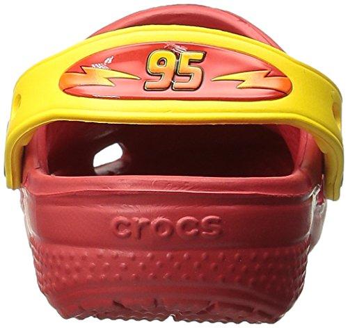 Cc And Niñas yellow Rosso Mcqeen flame Crocs Zuecos Francesco EcUnpdfEWa