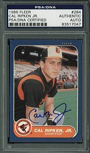 1986 Fleer Autographed Card - 9