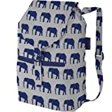 Baggu 7-18122-31411-9 Daypack Bag, Elephant Print, Outdoor Stuffs