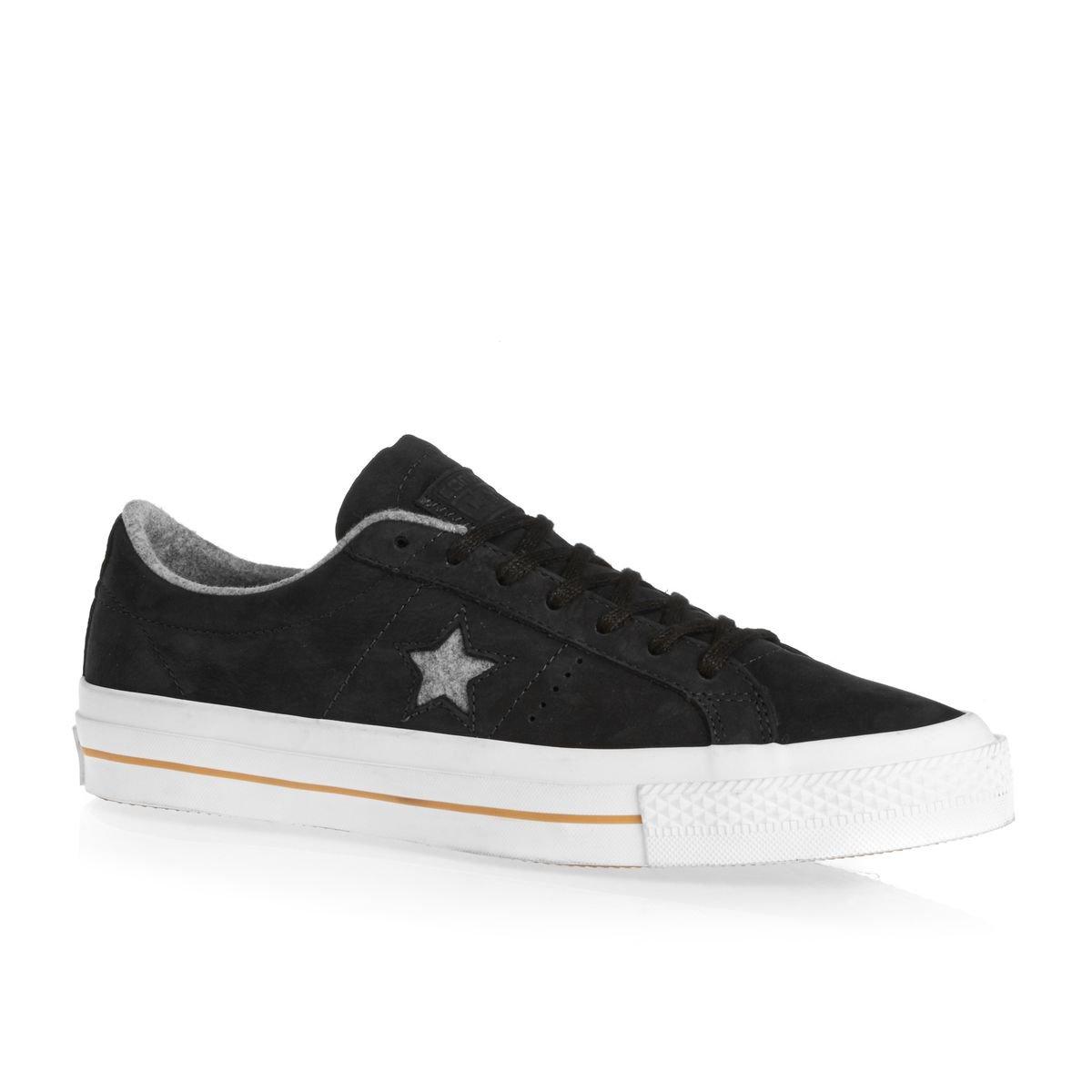 Converse Unisex One Star Pro Low Top Sneaker 45 M EU Black