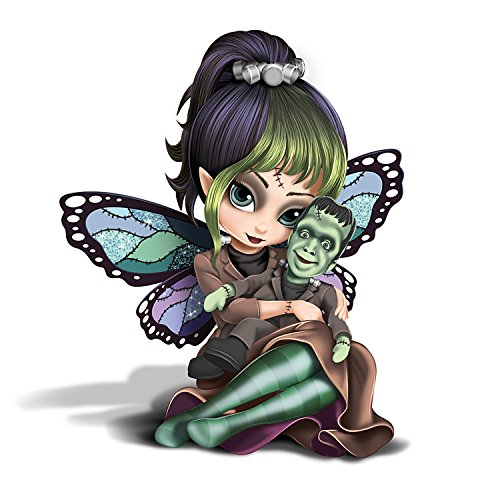 Herman Fairy Munsters Figurine by Jasmine Becket Griffith by The Hamilton Collection -