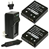 Wasabi Power Battery (2-Pack) and Charger for Ricoh DB-65 and Ricoh G700,...