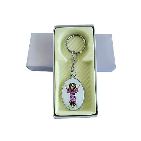 b458532fb Amazon.com  Divine Child Jesus Metal Keychain 12PCS - Baptism Favor Presentacion  de 3 Años Recuerdos de Bautizo Divino Nino  Health   Personal Care