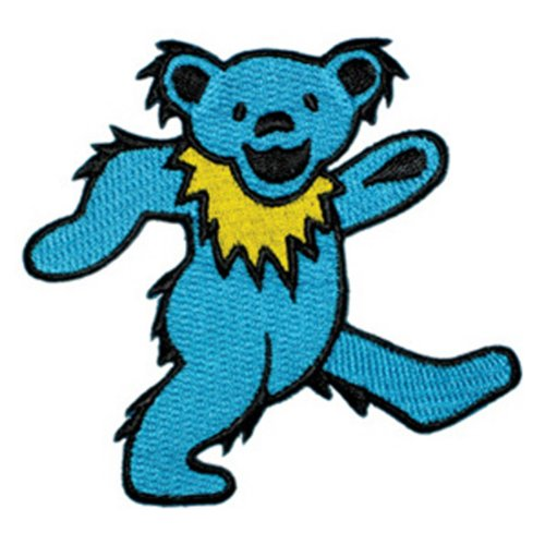 Application Dancing Bear Blue Patch