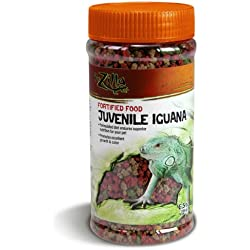 Zilla Reptile Food Juvenile Iguana Fortified, 6.5-Ounce