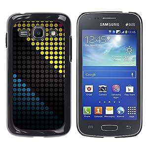Samsung Galaxy Ace 3 III / GT-S7270 / GT-S7275 / GT-S7272 , Radio-Star - Cáscara Funda Case Caso De Plástico (Colored Dots Pattern)
