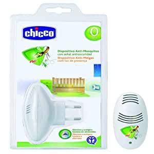 Chicco 00001886300040 - Dispositivo antimosquitos y antioscuridad, color blanco