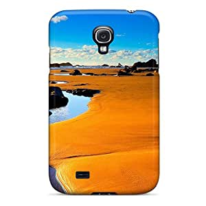 Coverdistr1996 Scratch-free Phone Cases For Galaxy S4- Retail Packaging - Beach