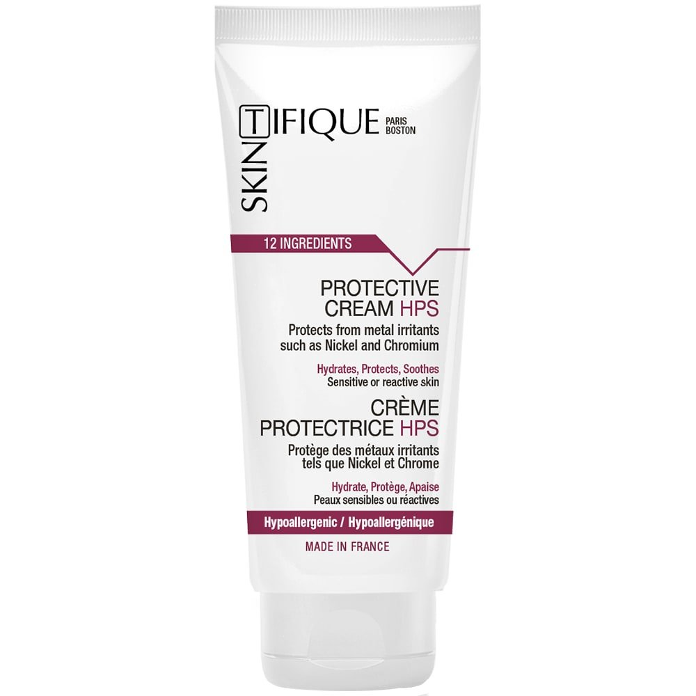 Protective Cream HPS - Unique Protection Against Metals (Nickel, Chromium, Cobalt...). Lasts for up to 14h. Extremely Safe & Pure Composition. Proven Efficacy. No Need for Nickel-Free Earrings Anymore!