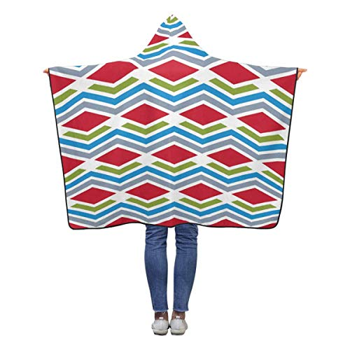 InterestPrint Abstract Interweave Lines Throw Blanket 50 x 40 inches Soft Lightweight Wearable Blankets