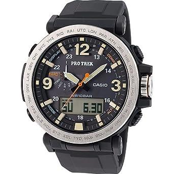 Casio Reloj Multiesfera para Hombre de Cuarzo con Correa en Resina PRG-600-1ER: Amazon.es: Relojes