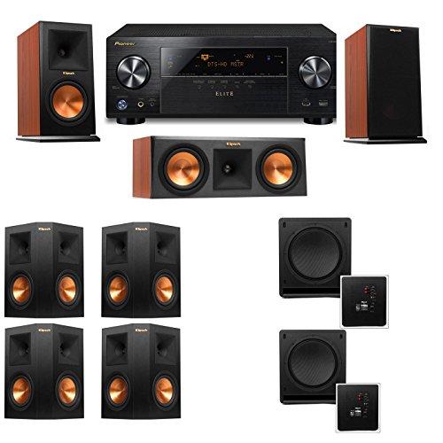 Klipsch RP-150M-CH Monitor Speaker 7.2 SW-112 Pioneer Elite VSX 80