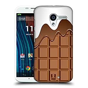 Head Case Designs Chocomelt Chocolaty Protective Snap-on Hard Back Case Cover for Motorola Moto X