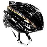 KASK MOJITO SPECIAL ROAD CYCLING HELMET IRIDE BLACK/WORLD CHAMPION STRIPES M (48