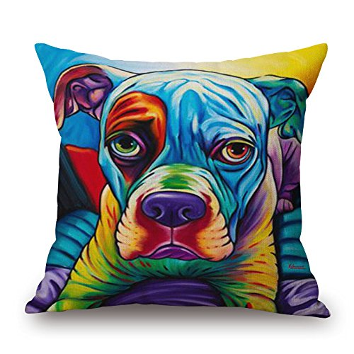 Artistdecor 20 X 20 Inches / 50 By 50 Cm Dog Pillow Covers,twin Sides Is Fit For Floor,son,him,relatives,car Seat,coffee (Mrs Marvel Costume)