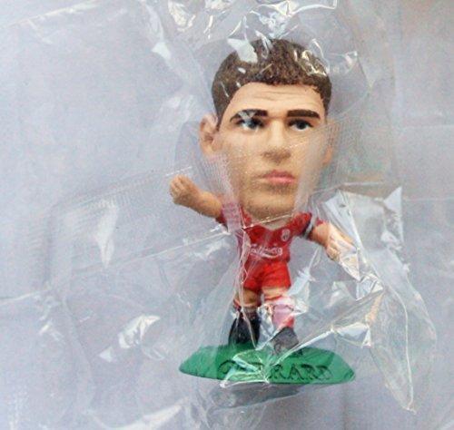 simile a SoccerStarz Steven Gerrard MicroStars Serie 17 personaggio Base Verde MC11556 Liverpool Kit Di Casa