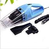 Pemm+6 Mini Portable Car Vehicle Auto Recharge Wet Dry Handheld Vacuum Cleaner (Blue)