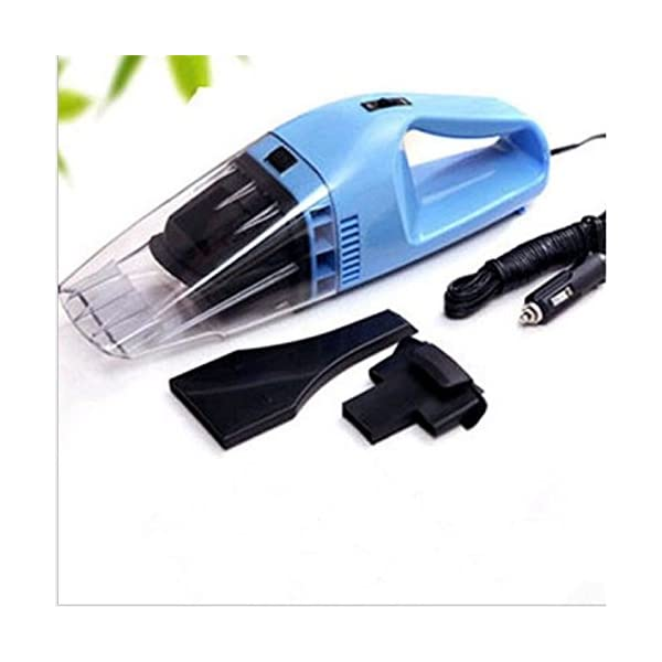 onewiller Mini Portable Car Vehicle Auto Recharge Wet Dry Handheld Vacuum Cleaner (Blue)