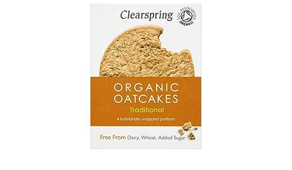 Clearspring Libre De Oatcakes orgánicos 200g: Amazon.es: Alimentación y bebidas