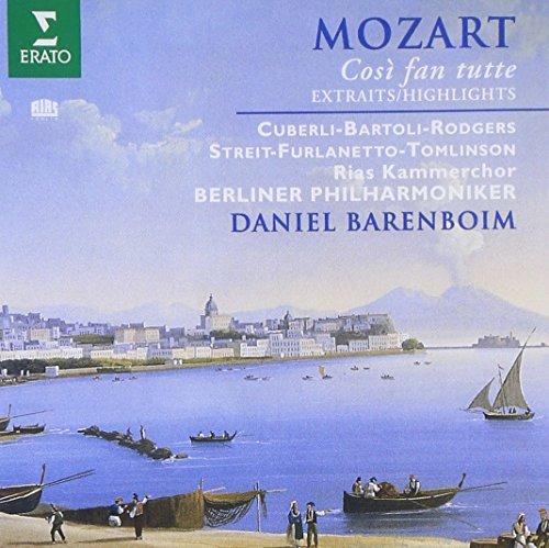 Mozart - Così fan tutte / Cuberli, Bartoli, Rodgers, Streit, Furlanetto, Tomlinson, Berlin Phil., Barenboim [highlights]