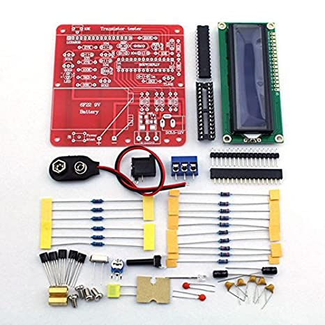 amazon com quickbuying new arrival diy kits original hiland diyimage unavailable image not available for color quickbuying new arrival diy kits original hiland diy multifunction transistor tester kit for lcr esr