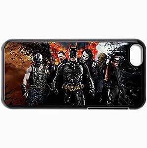 Unique Design Cellphone Case For iphone 6 plus Case Cats Batman With Bane Joker Catwoman Black