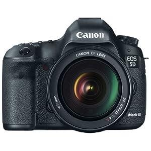 Canon EOS 5D Mark III 22.3 MP Full Frame CMOS with 1080p Full-HD Video Mode Digital SLR Camera (Body)