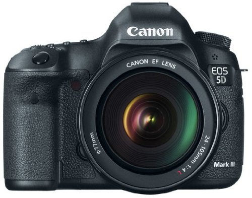 Canon EOS 5D Mark III 22.3 MP Full Frame CMOS with 1080p...