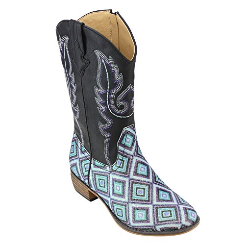Embroidered Western Boots - 9