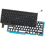 Odyson - Replacement US English Keyboard + Keyboard Backlight for MacBook Pro Unibody 15 A1286 (Mid 2009-Mid 2012)